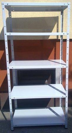 77156800 Regał metalowy, 6 półek (wymiary: 3000x900x800 mm, obciążenie półki: 150 kg)