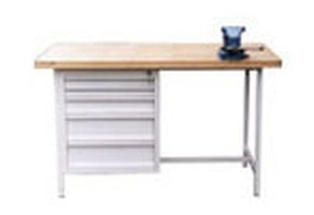 77156853 Stół warsztatowy, 5 szuflad (wymiary: 2000x750x900 mm)