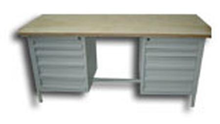 77156858 Stół warsztatowy, 8 szuflad (wymiary: 2000x750x900 mm)