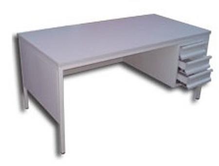 77157069 Biurko, 3 szuflady (wymiary: 1600x800x750 mm)
