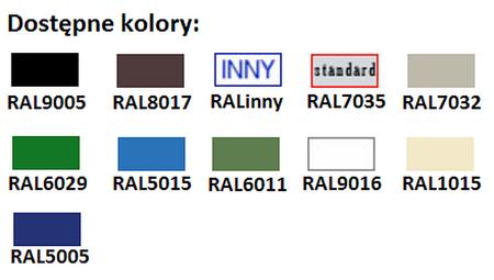77157082 Szafa biurowa żaluzjowa, 2 półki (wymiary: 1040x1200x435 mm)