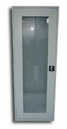77157097 Szafa biurowa przeszklona, 1 drzwi, 4 półki (wymiary: 1800x600x460 mm)