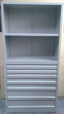 77157227 Regał narzędziowy, 7 szuflad, 2 półki (wymiary: 2000x970x500 mm)