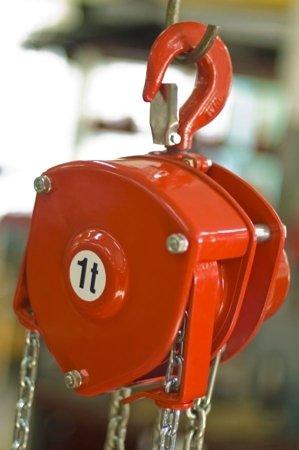9588153 Wciągnik łańcuchowy stacjonarny WŁ-80S (udźwig: 8,0 T)