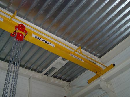 9588157 Wciągnik łańcuchowy przejezdny WŁ-15P (udźwig: 1,5 T)