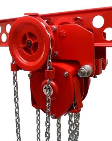 9588159 Wciągnik łańcuchowy przejezdny WŁ-32P (udźwig: 3,2 T)