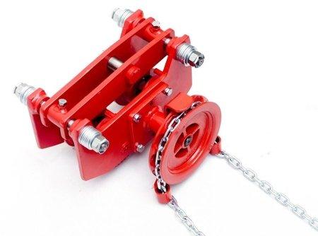9588171 Wózek szynowy do wciągników przejezdnych WS-32P (udźwig: 3,2 T)