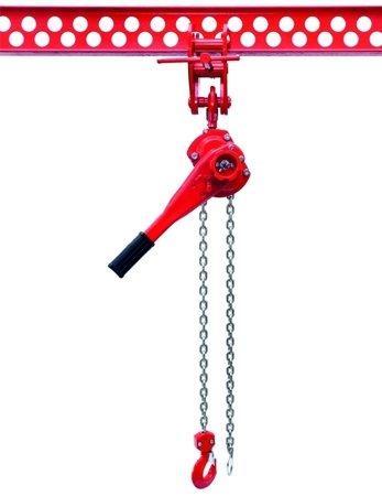 9588183 Wciągnik łańcuchowy dźwigniowy, łańcuch Ogniwowy WŁG-075B (udźwig: 0,75 T)