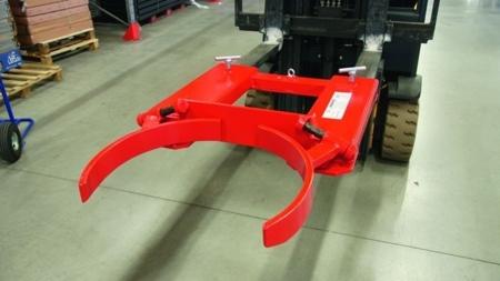99724856 Uchwyt do beczek na wózek widłowy GermanTech DG40 (udźwig: 300 kg)