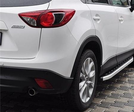 DOSTAWA GRATIS! 01655727 Stopnie boczne - Mazda CX-7 (długość: 171-182 cm)