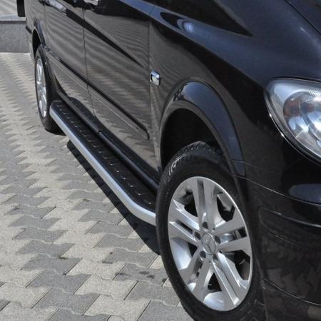 DOSTAWA GRATIS! 01655732 Stopnie boczne - Mercedes Vito W639 2004-2014 short/middle (długość: 238 cm)