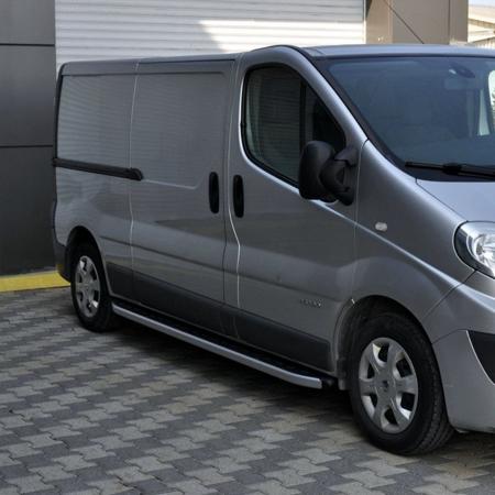 DOSTAWA GRATIS! 01655754 Stopnie boczne - Opel Vivaro 2014+ long (długość: 252 cm)