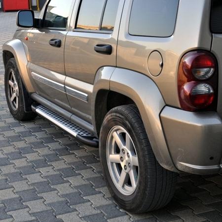 DOSTAWA GRATIS! 01656024 Stopnie boczne - Jeep Grand Cherokee WK2 2011- (długość: 182/171 cm)