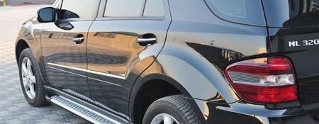 DOSTAWA GRATIS! 01656044 Stopnie boczne - Mercedes ML W164 2004-2011 (długość: 193 cm)