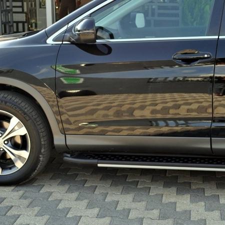 DOSTAWA GRATIS! 01656106 Stopnie boczne, czarne - Honda CRV 2007-2012 (długość: 171 cm)
