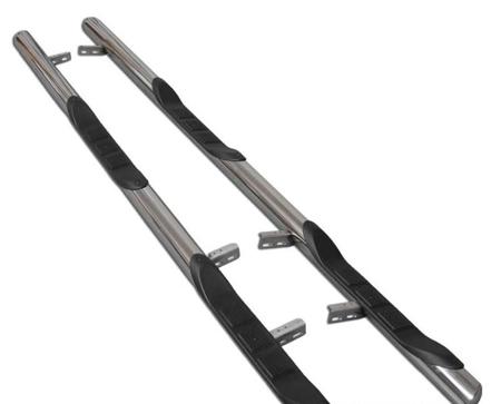 DOSTAWA GRATIS! 01656396 Orurowanie ze stopniami z zagłębieniami - Volkswagen T6 Long 3 stopnie