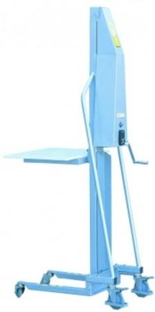 DOSTAWA GRATIS! 310410 Wózek podnośnikowy (udźwig: 100 kg, wymiary wideł: 400x330x40 mm)