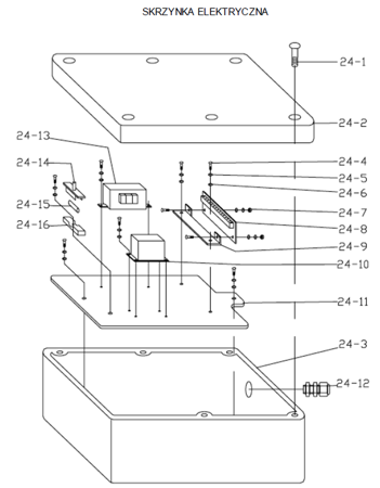 DOSTAWA GRATIS! 3109771 Stół podnośny elektryczny  (wymiary platformy: 1200x2000mm, udźwig: 4000 kg) wysokość podnoszenia 240-1050 mm (min-max)