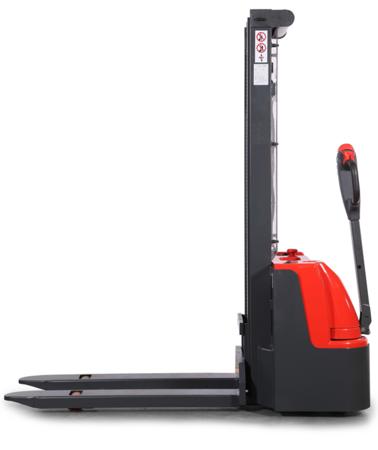 DOSTAWA GRATIS! 99746694 Wózek paletowy elektryczny GermanTech ECL1029 (udźwig: 1000 kg, długość wideł: 1150 mm, wysokość podnoszenia: 2900 mm)