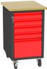 001506675 Wózek platformowy, 5 szuflad (wymiary: 830x505x605 mm)